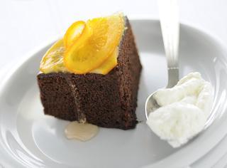 Torta di cioccolato all'arancia cioccolato