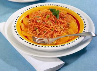Ricetta: insalata di carote all'arancia