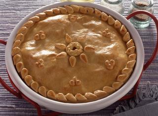 Ricetta: torta con cicoria