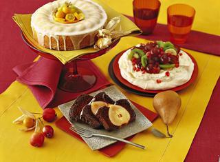 Torta plumcake di pere e cioccolato