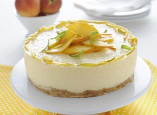 Torta fredda allo yogurt senza uova