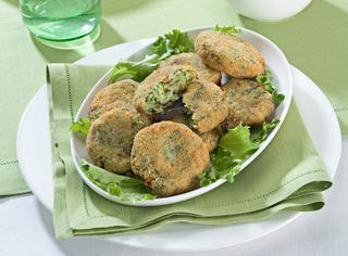 Polpette di zucchine, patate e spinaci