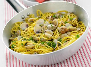 Spaghetti alle vongole surgelate