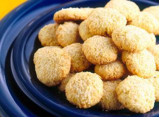 Biscotti al cocco semplici e veloci
