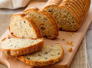 Pane alle olive con lievito madre