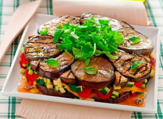 Tortino di verdure al forno