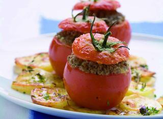 Pomodori ripieni di carne macinata