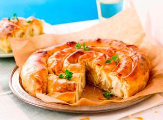 Torta salata greca tiropita