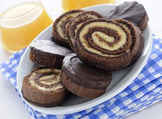 Girelle alla Nutella®e cioccolato
