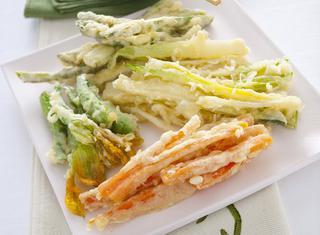 Verdure in tempura