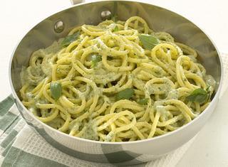 Spaghetti al pesto veloci
