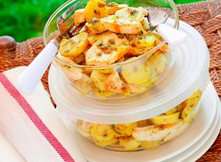 Insalata di pollo e patate