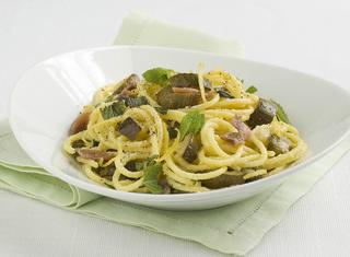 spaghetti alle zucchine aromatiche