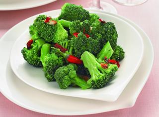 Broccoli aglio, olio e peperoncino