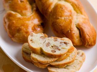 Pane alle noci fatto in casa