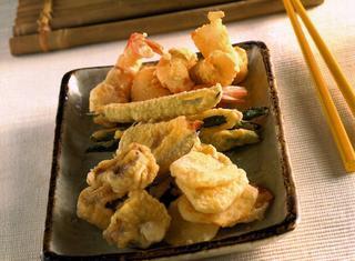 Ricetta tempura giapponese