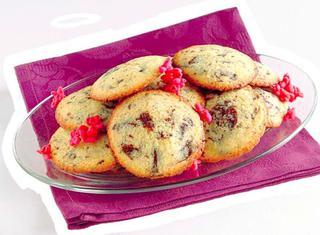 Biscotti al burro con scaglie di cioccolato