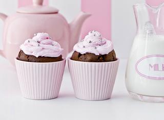 Cupcake con crema alla vaniglia