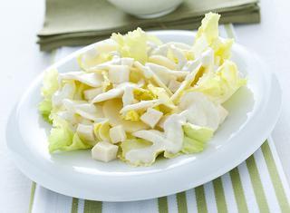 Topinambur con formaggio e noci