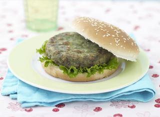 Burger di patate e spinaci