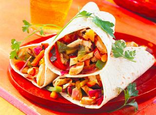 Tortillas con pollo