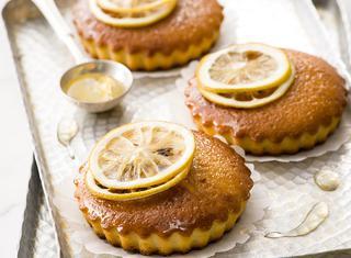 Tortine soffici al limone