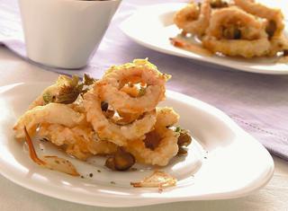 Calamari fritti croccanti