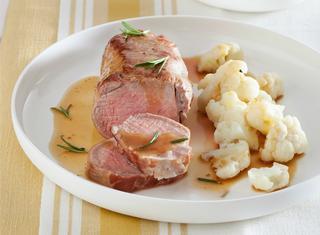 Filetto di maiale glassato al forno