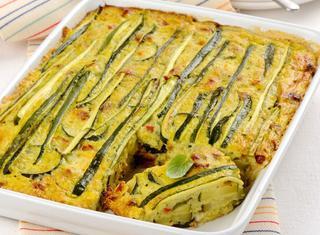 Sformato di zucchine al forno
