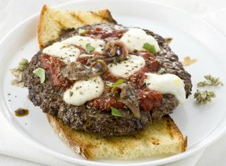 Hamburger alla pizzaiola facili e veloci