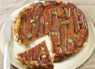 Torta speziata alle carote