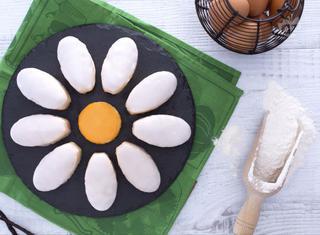 Torta fiore margherita