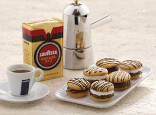 Bacetti alla crema di caffè