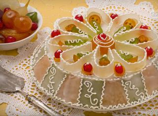Come guarnire una cassata siciliana