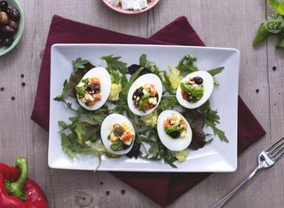 Ricetta: uova alla greca