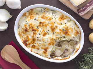 Pasticcio di patate e pancetta
