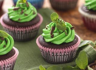 Ricetta: cupcake menta e cioccolato