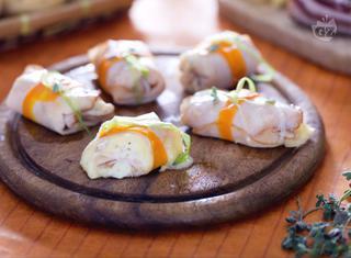 Ricetta: involtini di tacchino con patate, ricotta e pancetta