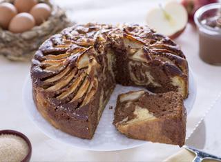 Ricetta: torta di mele e Nutella