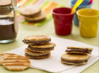 Come preparare i waffle sandwich alla nutella