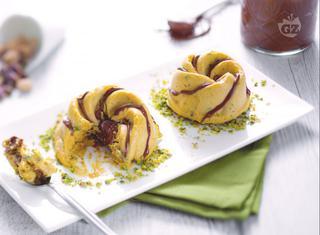 Semifreddo al pistacchio e Nutella