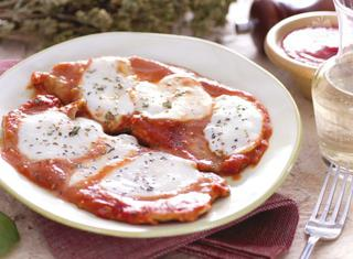 Scaloppine di vitello alla pizzaiola
