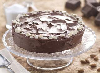 Torta golosa al cioccolato senza farina