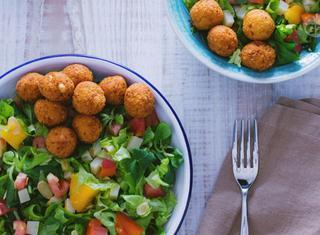 Polpette in insalata