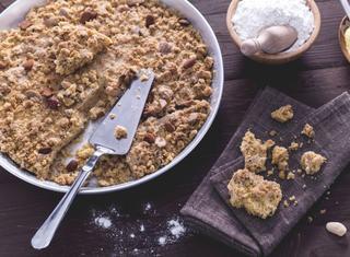 Come preparare la torta Sbrisolona
