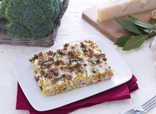 Cannelloni con crema di broccoletti alla ricotta