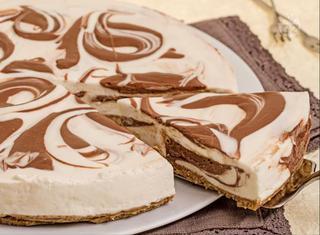 Cheesecake marmorizzata: la ricetta