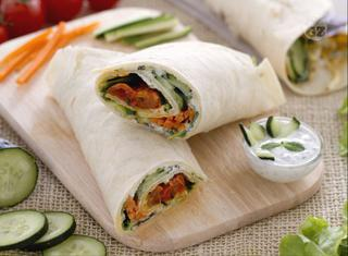 Come fare i veggie wrap
