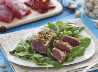 Come preparare il tonno in crosta di pistacchi