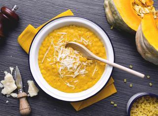 Ricetta: minestra di zucca alla milanese